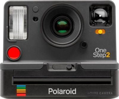 0020100012 - POLAROID CAMERA INSTANT ONE STEP 2 GRAPHITE VIEWFINDER ^