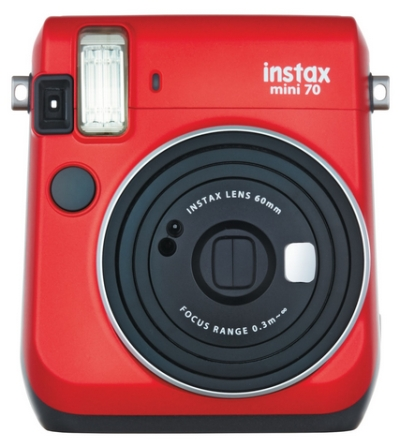 0024010232 - FUJI INSTAX MINI 70 PASSION RED