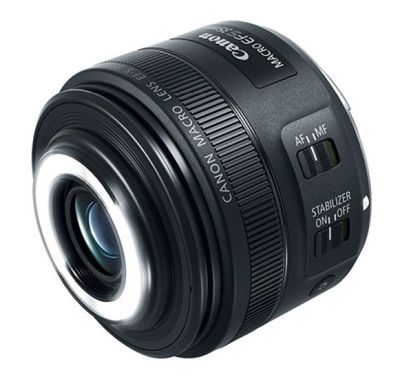 0060112423 - CANON EFS 35 F2,8 MACRO IS STM SISTEM LED