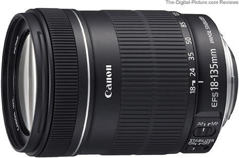 0068297324 - CANON EFS 18-135 3,5/5,6 IS USM NEW (SIP)