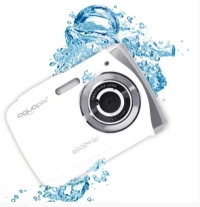 "00852000045 - AQUAPIX W1024 SPLASH 10MP 4X LCD 2,4""  BAT AAA SUB 3MT WHITE"