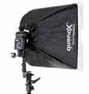0203770730 - **LINKSTAR/ALTRI SOFTBOX FLASH 40X40  PER FLASH A SLITTA EB-060 OFFERTA ^