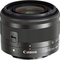 0258290005 - CANON EF-M 15-45 F 3.5-6.3 IS STM BLACK (SIP)
