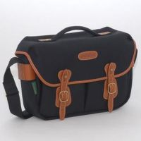 0301115234 - BILLINGHAM BAG HADLEY SMALL PRO NERO/BORDI CUOIO NERO FIBRENYTE^