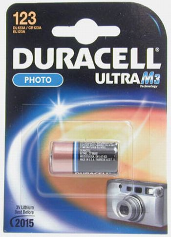 0380151155 - DURACELL DL  123