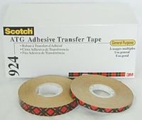 0420810500 - 3M SCOTCH 924 BIADESIVO 12mm X 33m X12 ROTOLI